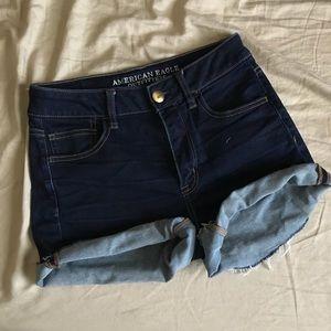 Hi-rise Shorts